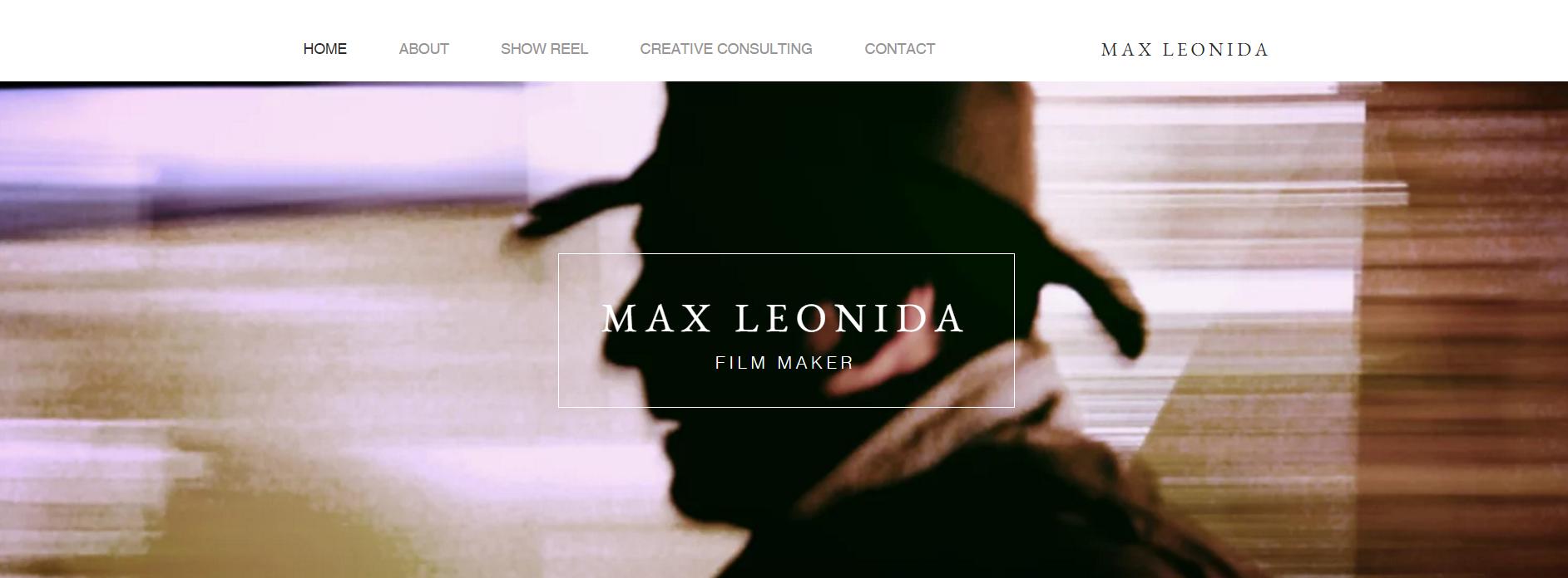 Featured Film Maker Max Leonida